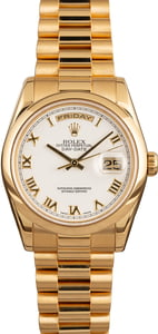 Rolex Presidential Day-Date 118208 Roman Dial