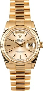 Rolex President Gold Day-Date 118238