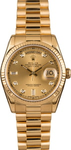 Pre-Owned Rolex 118238 President Diamond Dial