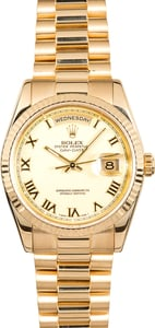 Rolex President 118238 Yellow Gold