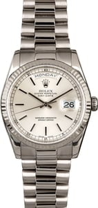 Rolex Day-Date 118239 White Gold President