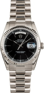 Used Rolex President 118239 White Gold
