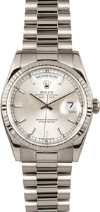 PreOwned Rolex President 118239 White Gold