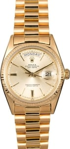 Men's Rolex President 1803 Yellow Gold