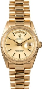 Rolex Presidential 1803 Yellow Gold Day-Date