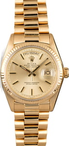 Vintage Rolex President 1803 Champagne Dial