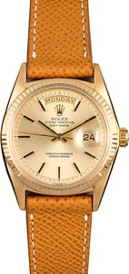 Rolex President 1803 Yellow Gold