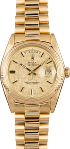 Used Rolex President 1803 Yellow Gold