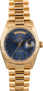 Used Rolex President 1803 Blue Dial