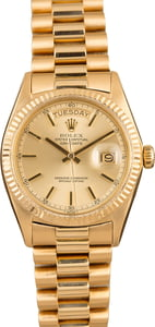 Used Rolex President 1803 'Pie Pan' Champagne Dial