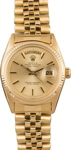 Used Rolex Day Date 1803 Champagne Dial
