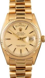 Rolex Presidential Day-Date 1803 Pre-Owned