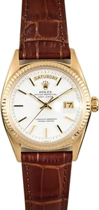 Rolex President 1803 Vintage Certified Pre-Owned