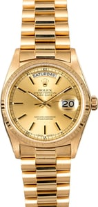 Certified Pre-Owned Rolex Day-Date 18038