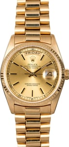 Rolex Day-Date 18038 President