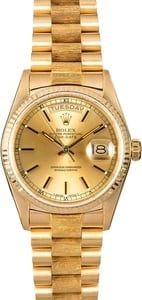 Rolex Day-Date 18038 President 18k Yellow Gold