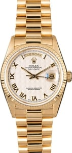 Rolex President 18k Yellow Gold Day-Date 18038