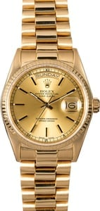 Certified Pre-Owned Rolex Day-Date 18038 President