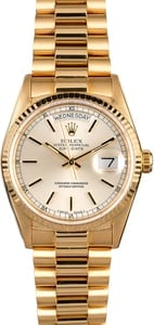 PreOwned Rolex Presidential 18038 Day-Date Yellow Gold