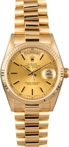 Rolex President 18038 Yellow Gold Day-Date