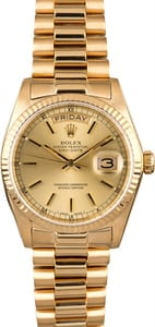 Rolex President 18038 Day-Date 18k Yellow Gold