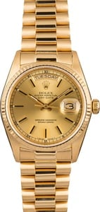 Used Rolex President Day-Date 18038 Champagne