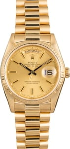 Pre Owned Rolex President 18038