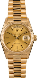 Used Rolex Day-Date 18038 President Watch