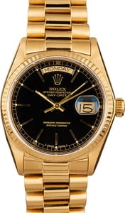 Rolex Day-Date 18K Gold President 18038