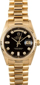 Rolex President 18038 Certified Pre-Owned