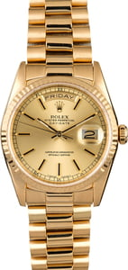 Rolex President 18238 Champagne Day-Date