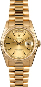 Rolex President 18238 Yellow Gold Day-Date