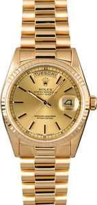 Used Rolex President 18238 Day-Date 18K Yellow Gold