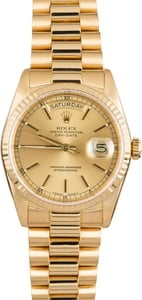 Used Rolex President 18238 Champagne Dial