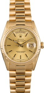 Pre Owned Rolex President 18238 Day-Date
