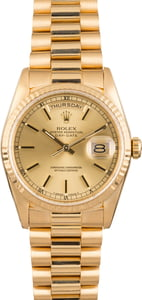 Pre Owned Rolex President 18238