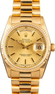 Pre-Owned Rolex President 18238 Day-Date
