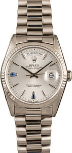 Pre Owned Rolex President 18239 White Gold