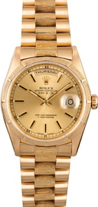 Rolex President 18248 with Bark Finish