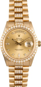 Rolex Presidential Diamond Day-Date 18348