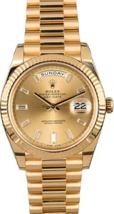 Rolex President 228238 Diamonds
