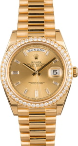 Rolex Day-Date II Ref 228348 Diamonds