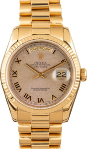 Rolex President Day-Date 118238 18K Gold