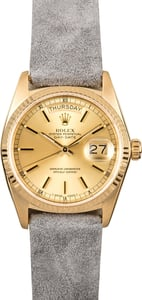 Rolex President Day-Date 18038 Leather Strap