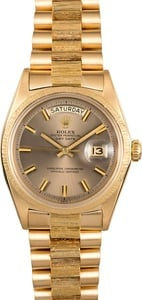 Rolex President Day-Date 1807 Bark Finish