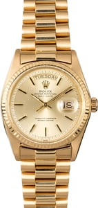 Rolex Presidential 1803 Gold Day-Date