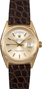 Rolex Presidential 1803 Vintage Gold Watch