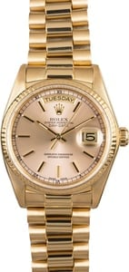 Rolex Presidential 18038 Day-Date Yellow Gold