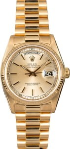 Rolex Presidential 18038 Day-Date Gold