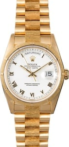 Rolex Presidential Day-Date 18248 Bark Finish